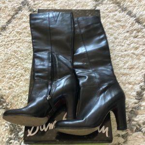 Sam Edelman black leather boots